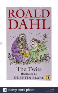 a-roald-dahl-childrens-book-called-the-twits-on-a-white-background-dfxea2